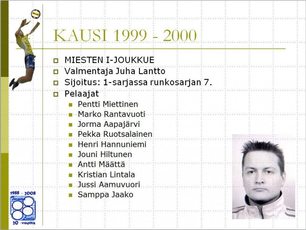 miehet 1999-2000